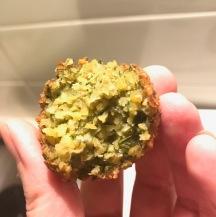 falafel inside