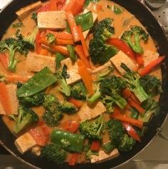 Panang curry GF and vegan