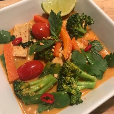 Panang curry glutenfree vegan