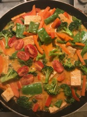 Panang Curry Thai vegan and glutenfree