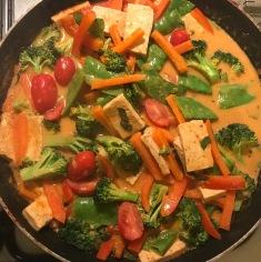 Panang curry vegan and GF