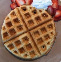 waffle no gluten veg