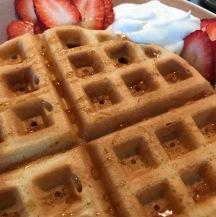 waffle vegan glutenfree